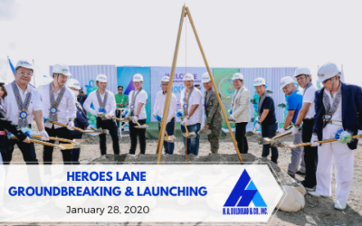 Heroes Lane Groundbreaking & Launching